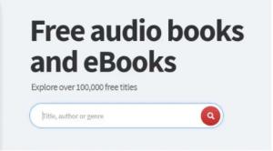 free audio books and ebooks
